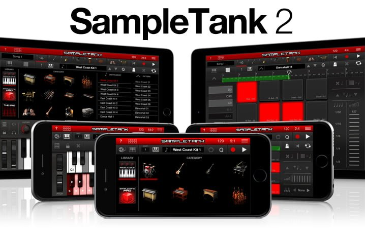 SampleTank 2 for iOS