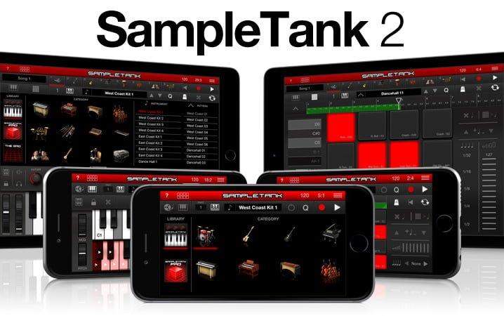 SampleTank 2 for iOS