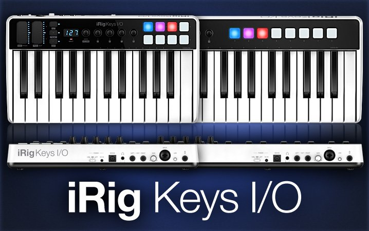 IK Multimedia iRig Keys I//O 25 All-In-One Production Station