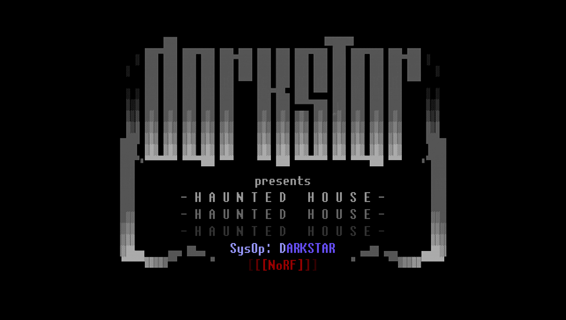 Darkstar Haunted House Library