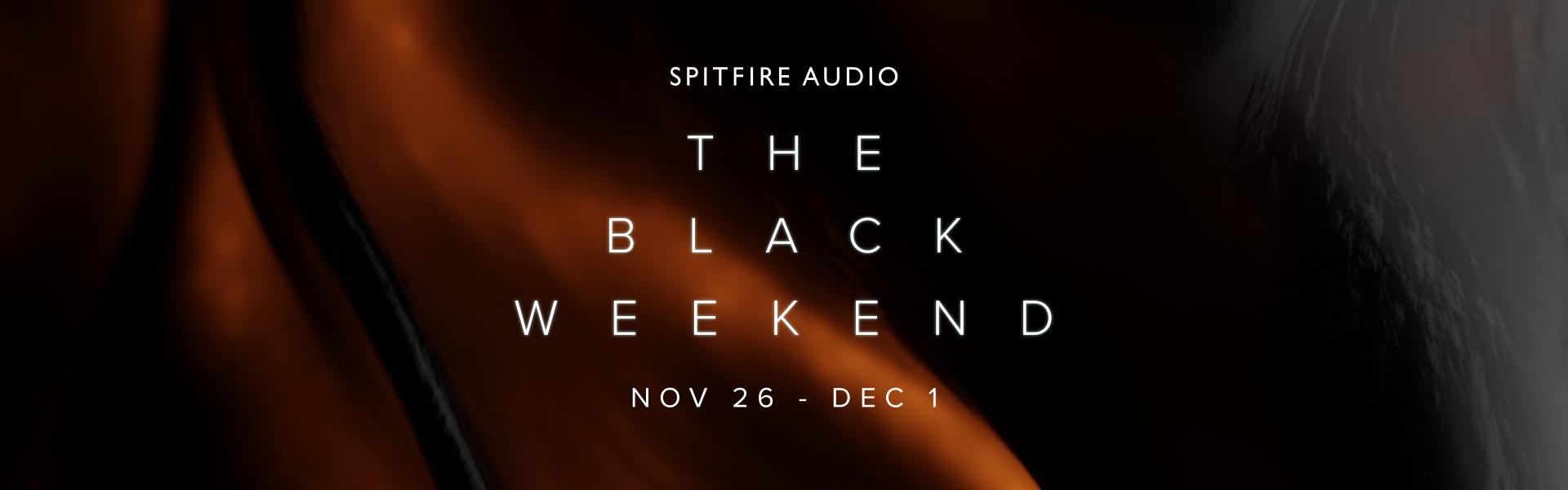 The Black Weekend Banner