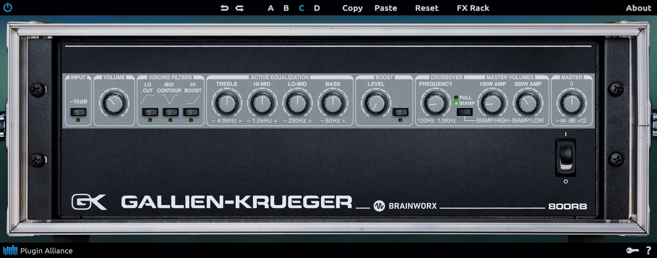 GK-800RB Interface