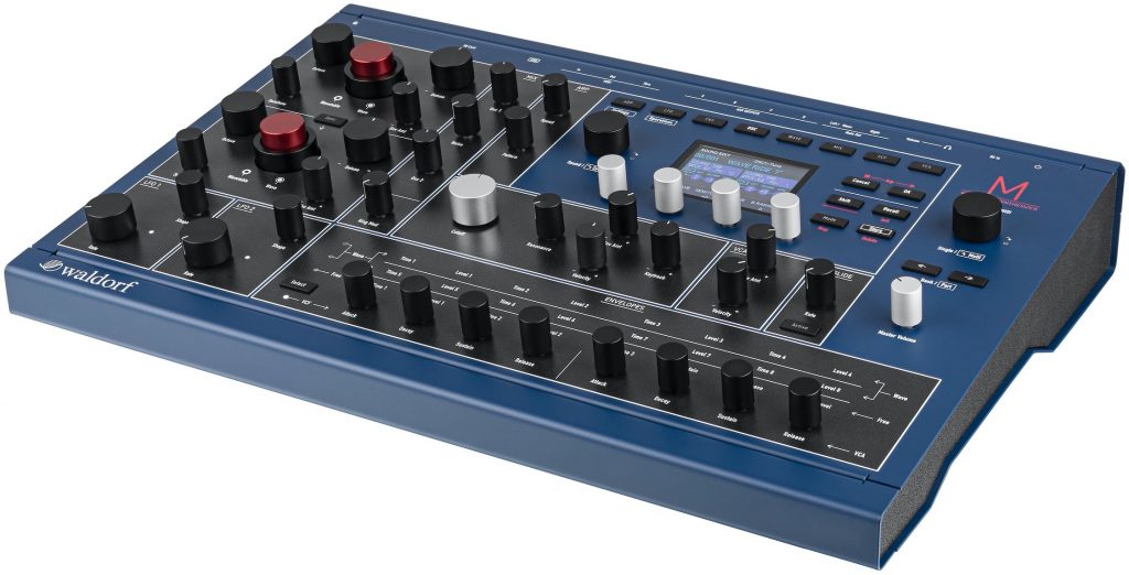 M Wavetable Synthesizer - Top Panel
